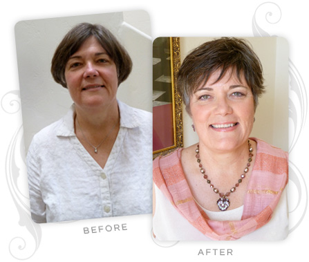 Judith MacBrine Before and After