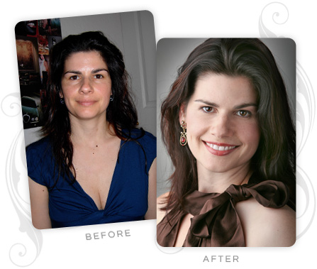 Karin Witzig Rozell Before and After