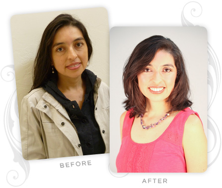 Monica Salazar Before and After
